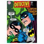 Tela Decorativa DC Comics Detective Colorido - Urban - 70x50 cm