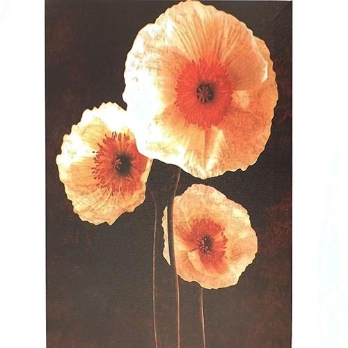 Tela Flores Amarelas - Impressão Digital - 30x40 cm