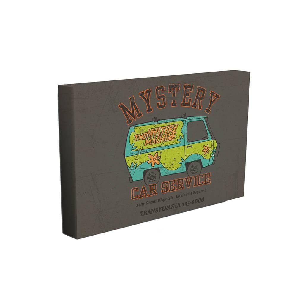 Tela Hanna Barbera Scooby Mistery Machine Car Service Colorido - Urban - 70x50 cm