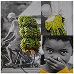 Tela Impressa Africa Banana Fullway