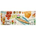 Tela Impressa Alimentos Diversos Fulway - 150x60 cm