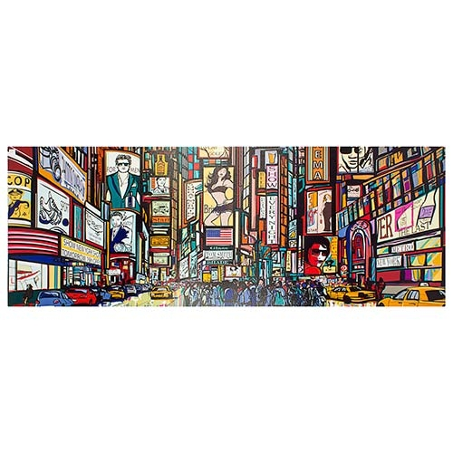 Tela Impressa Animação de Manhattan - 195x70 cm