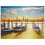 Tela Impressa Barcos no Mar Fullway - 158x120 cm