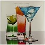 Tela Impressa Bebidas Fullway - 40x40 cm