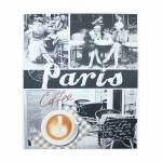 Tela Impressa Café Paris Femme Fullway - 100x120x4 cm