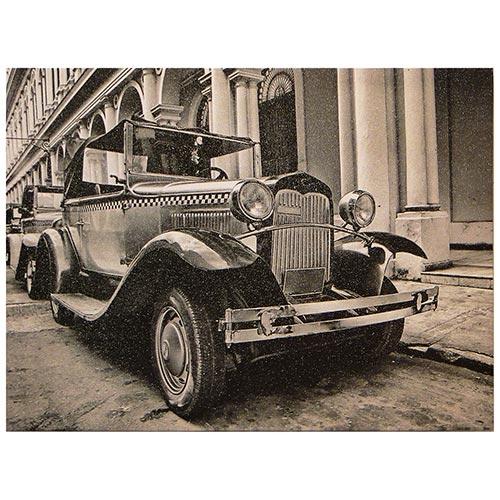 Tela Impressa Calhambeque Fullway - 30x40 cm