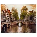 Tela Impressa Canal Amsterdã Fullway - 158x120 cm