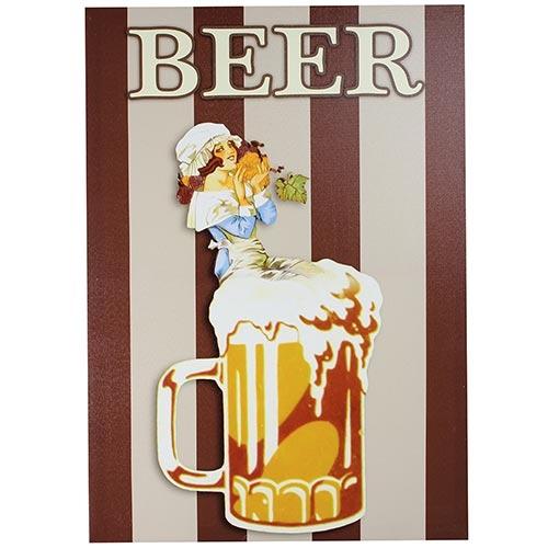 Tela Impressa Caneco Beer Fullway - 70x50 cm
