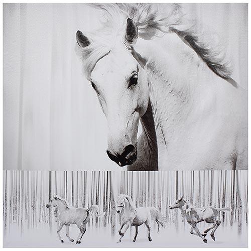 Tela Impressa Cavalo c/ Crina Alta Fullway - 70x70 cm