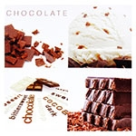Tela Impressa Chocolate Fullway - 40x40 cm