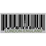 Tela Código de Barras London England Fullway
