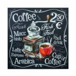 Tela Impressa Coffee Machine Fullway - 60x60x3 cm