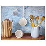 Tela Impressa Cozinha Blue Fullway - 90x70 cm