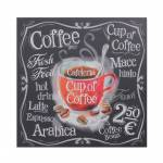 Tela Impressa Cup Of Cofee Fullway - 60x60x3 cm