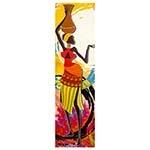 Tela Impressa Desenho Africano Fullway - 145x40 cm