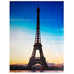 Tela Impressa Eiffel Entardecer Fullway - 150x195 cm