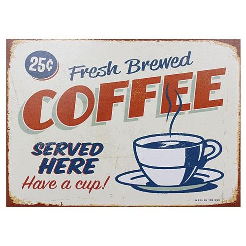 Tela Impressa Fresh Brewed Coffee Fullway - 70x50 cm