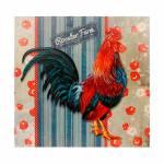Tela Impressa Galo Roaster Farm Oldway - 50x50x3 cm