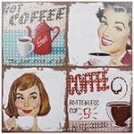 Tela Impressa Hot Coffe Fullway