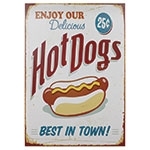 Tela Impressa Hot Dogs Fullway - 70x50 cm