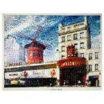 Tela Impressa Imagens Moulin Rouge Fullway - 140x100 cm