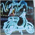 Tela Impressa Lambretta c/ Led New York At Night Fullway