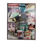 Tela Impressa Le Bistrot Oldway - 120x158x4 cm