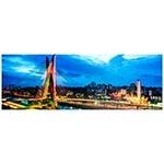 Tela Impressa com LEDs Ponte Estaida Fullway - 195x70 cm