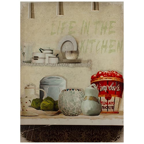 Tela Impressa Life in the Kitchen Fullway - 70x50 cm 119
