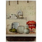 Tela Impressa Life in the Kitchen Fullway - 70x50 cm