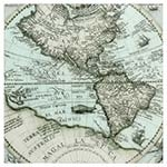 Tela Impressa Mapa Mexicano Frente de Vidro Fullway - 70x70 cm