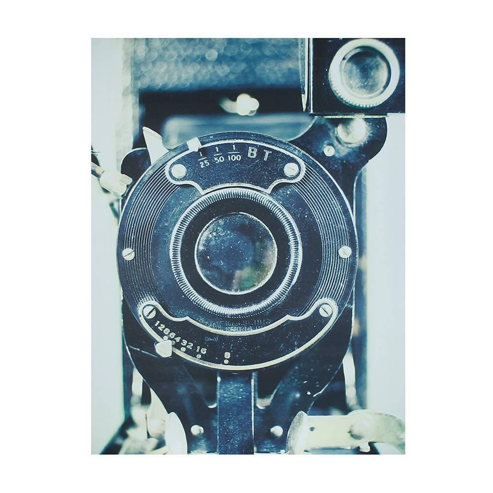 Tela Impressa Máquina Fotográfica Antiga Fullway - 60x80x4 cm