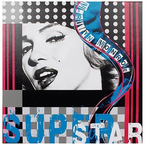 Tela Impressa Marylin Superstar Fullway - 50x50 cm