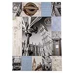 Tela Impressa Mosaico London Fullway - 140x100 cm
