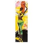 Tela Impressa Mulher Africana com Vaso Fullway - 145x40 cm