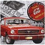 Tela Impressa Mustang Vermelho Coca Cola Fullway