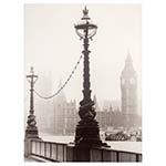 Tela Impressa Neve em Londres Fullway - 113x85 cm