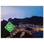 Tela Impressa Rio de Janeiro 17 LEDs Fullway - 40x30 cm