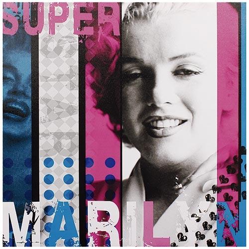 Tela Impressa Super Marylin Fullway - 50x50 cm