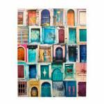 Tela Impressa The Doors Inblue Oldway - 28x28x4 cm