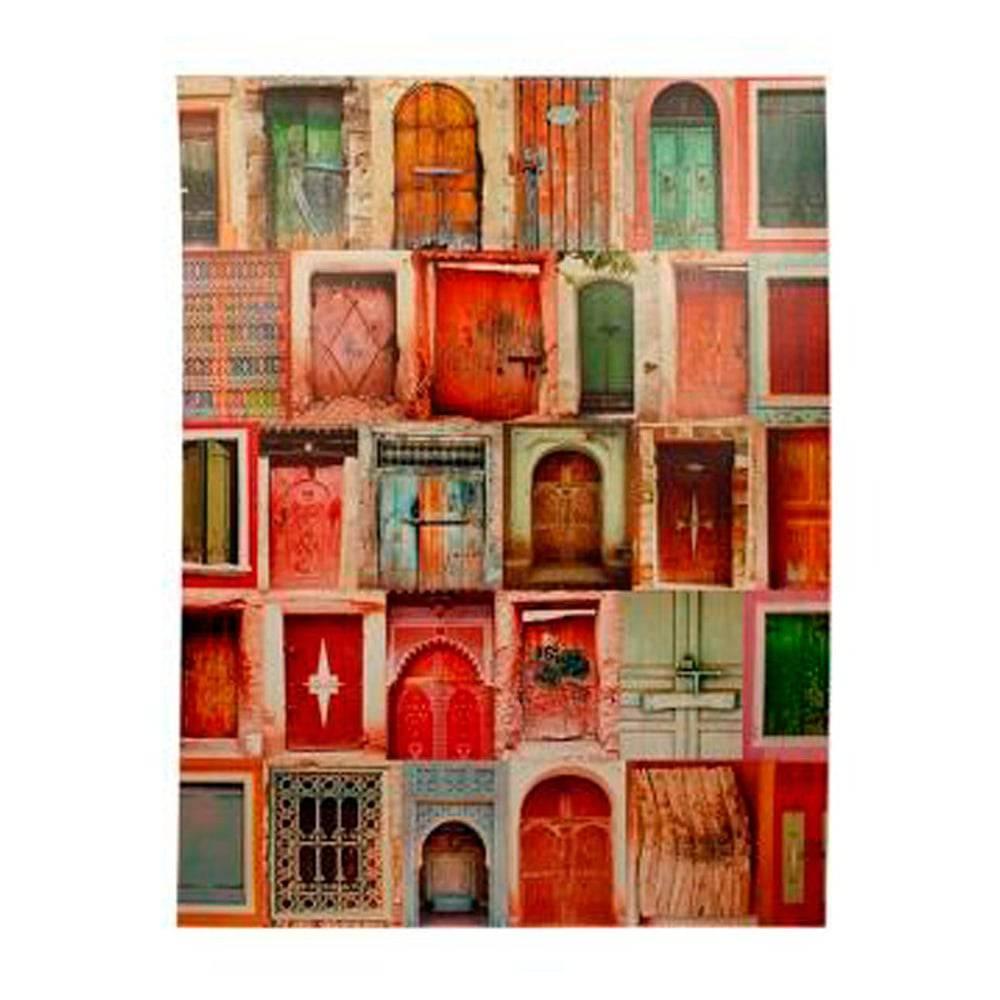 Tela Impressa The Doors Inpink Oldway - 28x28x4 cm
