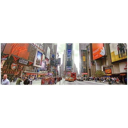 Tela Impressa Times Square 2 Fullway - 90x30 cm