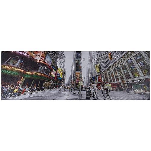 Tela Impressa Times Square Fullway - 90x30 cm