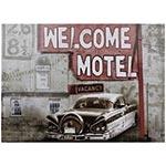 Tela Impressa Welcome Motel Fullway