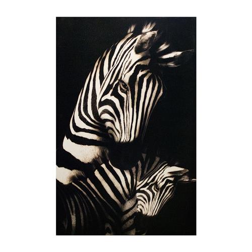 Tela Impressa Zebras África Fullway - 120x80 cm