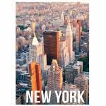 Tela Landscape New York Day Light em MDF - Urban - 70x50 cm