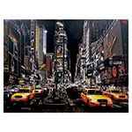 Tela com LED New York Taxis Fullway - 60x80 cm