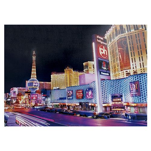 Tela com LEDs Illuminated Las Vegas Fullway - 100x140 cm