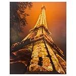 Tela com LEDs Torre Eiffel Iluminada Fullway - 190x150 cm