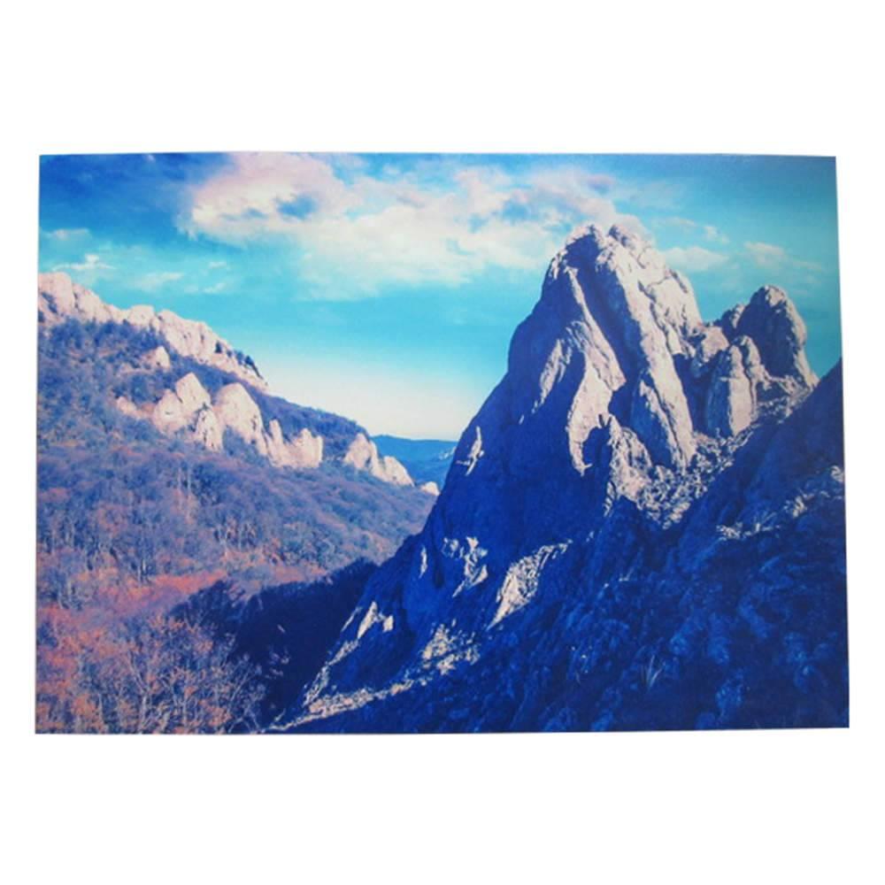 Tela Loft Nature and Mountains em MDF - Urban - 70x50 cm